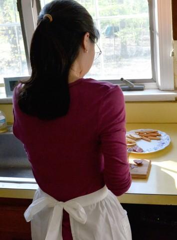 femme au foyer japonaise