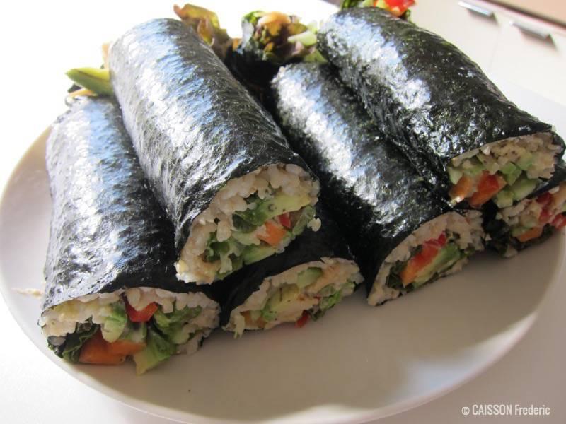Les Differents Type De Sushi Japonais Apprendre Le Japonais