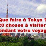 Article Que faire à Tokyo ? 20 choses à visiter absolument dans la capitale du Japon