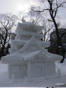 sculpture-chateau-japonais-glace