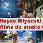 Article Hayao Miyazaki et les films du studio Ghibli