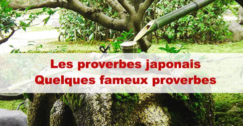 Article Proverbe japonais : quelques proverbes connus
