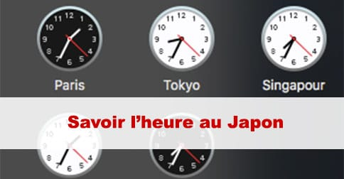 Article Heure au Japon : quelle heure est il au Japon