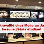 Article J'ai travaillé chez Mcdonald's au Japon
