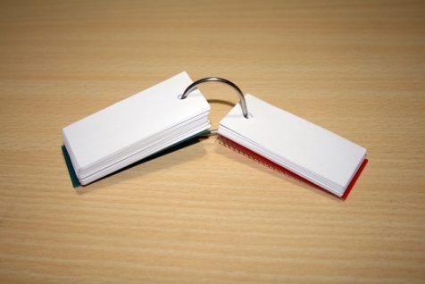cartes memoire flashcard