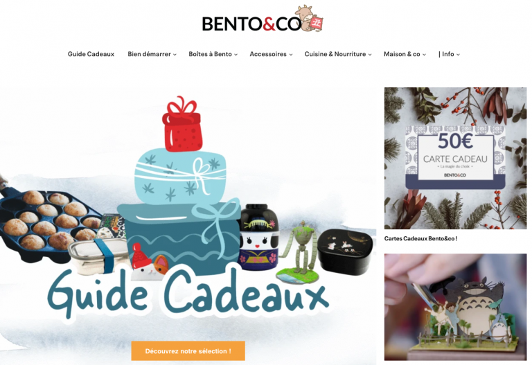 Bento and co site marchand