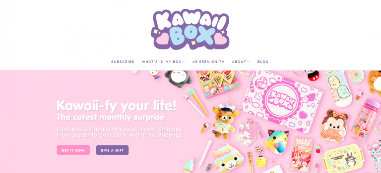 kawaii box site japonais
