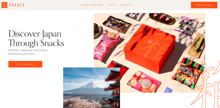 Bokksu site marchand boite japonaise