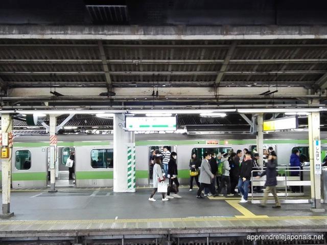 Train Yamanote Tokyo