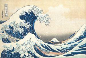 estampe hokusai